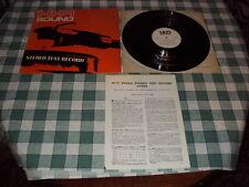 "HI FI SOUND MAGAZINE 12""VINYL STEREO TEST RECORD 1969 HFS69"