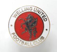 Welling United Football Club Enamel Badge Non League Football Clubs