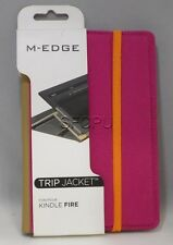 New Open Box M-Edge Trip Jacket Carrying Case Amazon Kindle Fire Pink/Orange