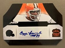2014 Crown Royale OZZIE NEWSOME Die Cut AUTO 1 of 1! - Cleveland Browns