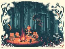 Mondo Adventure Time Poster Caltsoudas Limited Edition Screen
