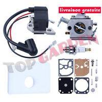 Carburateur Kit Bobine D'allumage pour Stihl 017 018 MS170 MS180 # 1130-120-0603