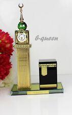 More details for islamic crystal cut real clock tower makka & kaaba eid ramadan gift & gift box
