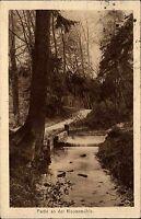 Dt. Reich MF 1922 AK Baum a.d. Klostermühle mit Stempel Friedrichroda gelaufen