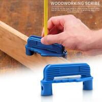 Center Finder Line Scriber Center Marking Gauge Woodworking Scribing Gauge Tool