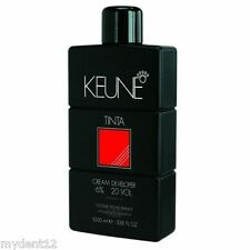 "Keune-Tinta Developer Cream - Oxygen 6% ""Free Shipping Worldwide"" 33.8o 1 liter"