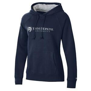 Johns Hopkins University Champion Pullover Sweatshirt Hoodie