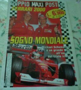 FERRARI  2000 SOGNO MONDIALE CON DOPPIO MAXI POSTER 89 X 63