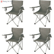 Ozark Trail Regular Arm Chairs, Set of 4 Folding Camping Seat NEW