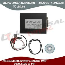 2014 MINI DSG Reader (DQ200+DQ250) PER VW & AUDI PROGRAMMATORE CAMBIO DSG NEW