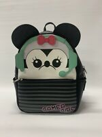 Loungefly Disney Gamer Girl Minnie Mouse Black Mini Backpack Bag Cute READ