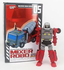 Machine Robo: Revenge of Cronos (2016) 05 Mixer Robo