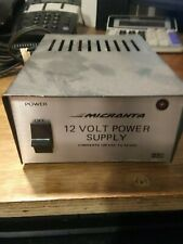 Micranta 120 Ac to12 volt Dc power supply 1.75 Amp