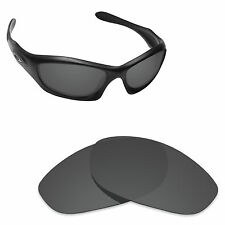 Hawkry Polarized Replacement Lenses for-Oakley Monster Dog Stealth Black