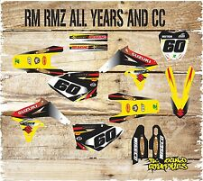 Suzuki RM H. 65 85 125 250 450 kit de gráficos de Motocross Kit de Pegatinas Calcomanías MX