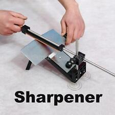 Professional Kitchen Sharpening Knife Sharpener System Fix-angle Set W/ 4 Stones
