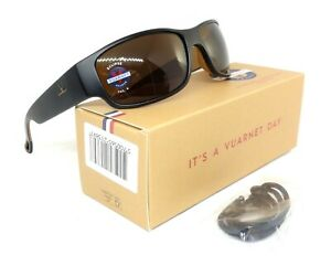 VUARNET Matte Gray Polarized Brown PC 2000 Sunglasses VL 0120 R011 2721