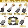 10X Motor Carbon Brushes Bush Angle Grinder CB325 CB459 CB303 CB419 CB203 CB85