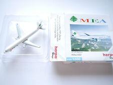 """AIRBUS A 321 """"MEA"""" - Middle East Airlines/F-ohmq, HERPA #508711 en 1:500 en boîte"""