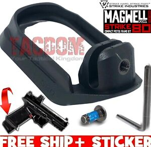 Strike Industries Magwell for NEW STRIKE80 COMPACT Frame ONLY Black StrikePoly80