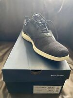 Cole Haan Grand Tour Knit Oxford Black/Ivory C31345 Men's 10.5 New With Box