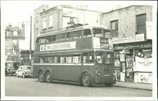 Trolley Bus 615 Moorgate Newsagents Shop RH.256