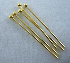 Wholesale DIY Silver/Gold Plated Eye's Pins&Needles Jewelry Findings 8 size Pick