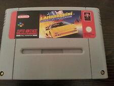 Lamborghini American Challenge für SNES Super Nintendo