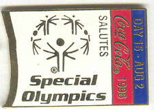 1996 ATLANTA OLYMPIC COCA COLA DAY PIN 15 FOR BOTTLE PUZZLE SET SPECIAL OLYMPICS