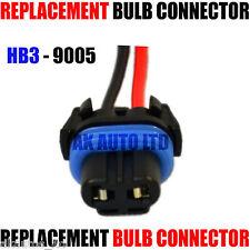 FOR SUBARU IMPREZA HB3 9005 HEADLIGHT BULB HOLDER CONNECTOR REPLACEMENT