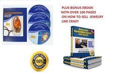 SELL JEWELRY LIKE CRAZY! - 3 DVD Set PLUS BONUS EBOOK  By Preston Reuther