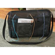 Knitting yarn Tote organizer Needles bag Patterns book