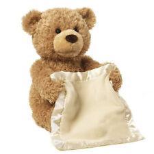 30cm Peek a boo Teddy Bear Play Hide And Seek Cartoon Plush Toy Cute Music Doll