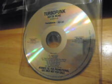 RARE ADV PROMO Turbofunk CD Gotta Move MIXES house Lifelike Air Bureau Chris Cox