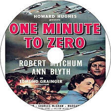 One Minute to Zero (1952) Robert Mitchum Ann Blyth Charles McGraw Rare DVD
