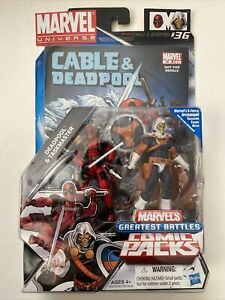 Marvel Universe Greatest Battles Deadpool & Taskmaster 2-Pack Comic Packs Hasbro