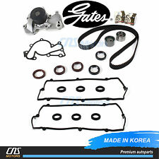 Gates Timing Belt Kit Water pump Vale Cover Gaskets for 03-10 Hyundai Kia 2.7L