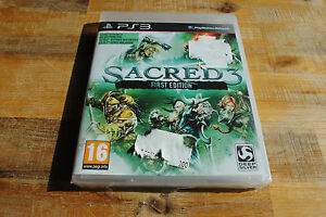 Jeu SACRED 3 FIRST EDITION NEUF pour PS3 Playstation 3 VF