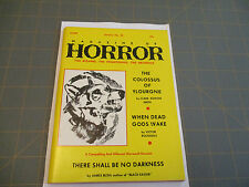 THE MAGAZINE OF HORROR    JANUARY 1969  ISSUE #25  RARE DIGEST Finlay Cover