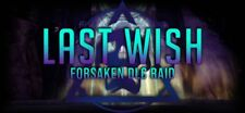 *SALE* LAST WISH FULL RAID COMPLETION (W/ EXOTIC CHESTS) (PC PS4 XBOX) DESTINY 2