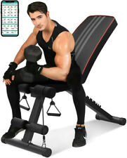 Adjustable Weight Bench Incline Decline Foldable Body Workout Home Gym Exercise