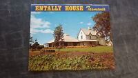 AUSTRALIAN OLD POSTCARD VIEW FOLDER, 1980s ENTALLY HOUSE TASMANIA