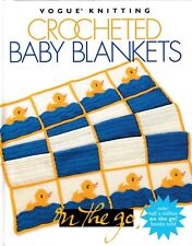 Crocheted Baby Blankets | Vogue Knitting On The Go! (Orig. Price: $12.95) New