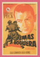 Spanish Pocket Calendar #251 12 Twelve O' Clock High Film Poster Gregory Peck