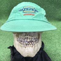 Vintage Pepe Jeans Denim Wear Strapback Green Hat Cap Fast Free Shipping