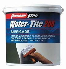 White Waterproofing Paint (White); Water-Tite 200- Decorative Waterproofing