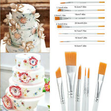 6Pcs Cake Decorating Brush Set Fondant Sugarcraft Food Paint Decoration DIY Tool