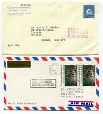 Canada / USA 1975 Postal Strike - Mail Service Suspended - Pair of Covers # 2