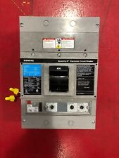 Siemens Circuit Breaker Sjd69400G 400 Amp 600 Volt 3 Pole