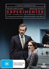 Experimenter (Dvd) Drama, History, Biography, Peter Sarsgaard, Winona Ryder